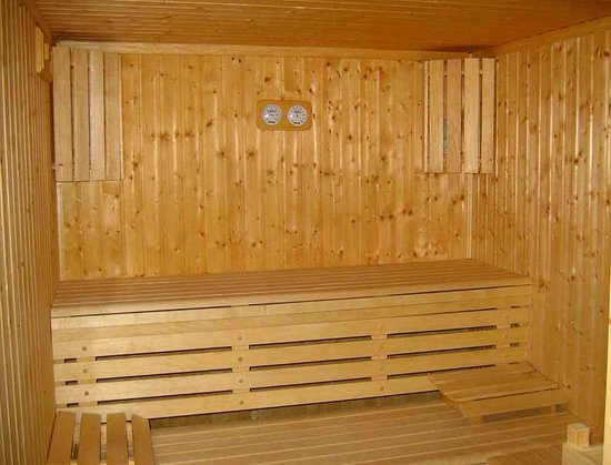 Residence Marina Holyder: Le sauna