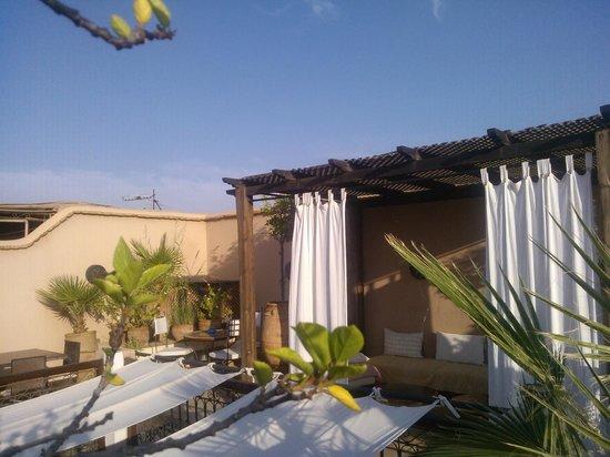 Riad 107: terrazza