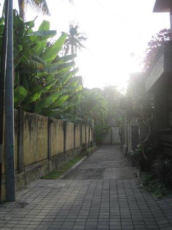Semarandana : Durchgang zur Straße