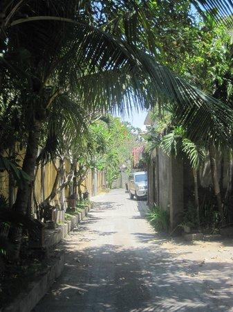 Semarandana: Hotelgelände