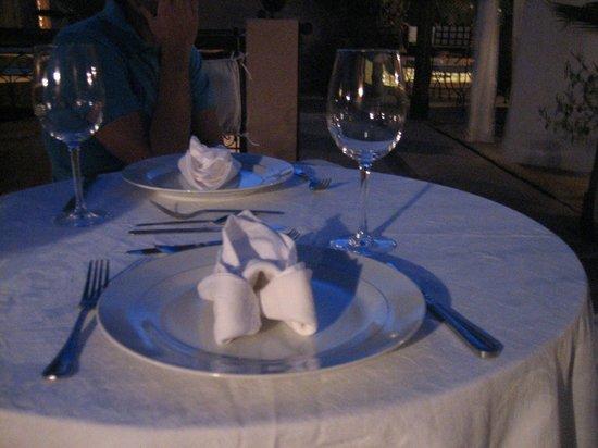 Riad 107: cena in terrazza