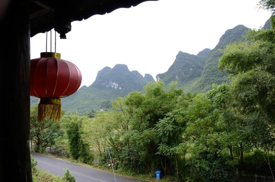 Yangshuo Tea Cozy : View from our room.