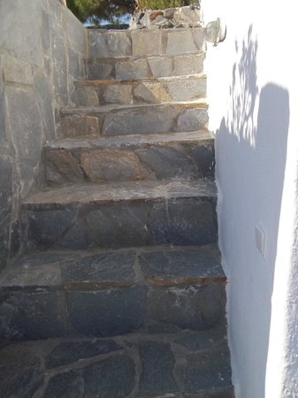 Villa Agnadi Studios : Just a few of the Steep Stairs