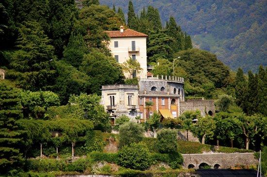 Villa d'Este: beautiful view of Villa Balbianello