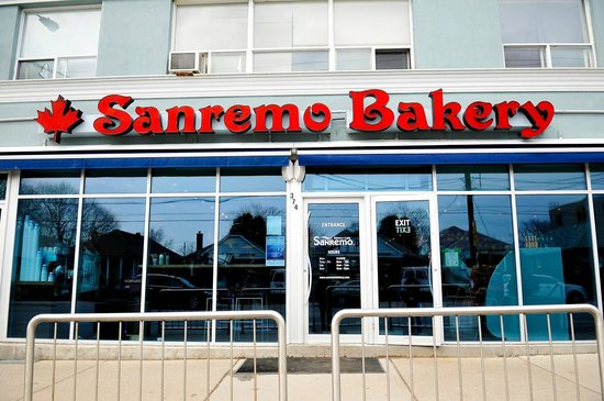 Photo of Italian Restaurant Sanremo Bakery and Cafe at 374 Royal York Rd, Toronto M8Y 2R3, Canada