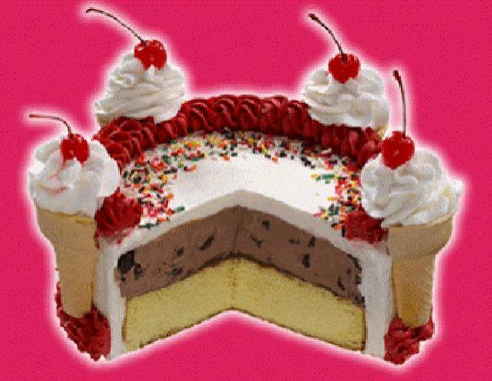 Bruster's Real Ice Cream: Ice cream cake
