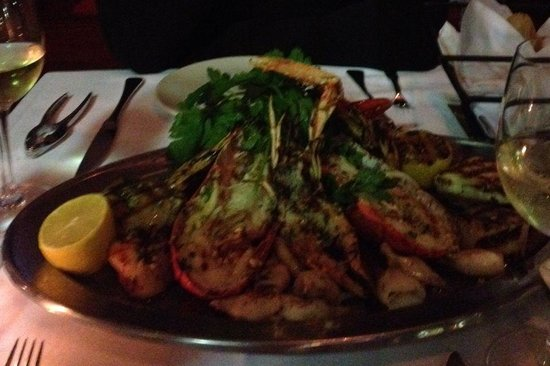 Mare : Great lobster with seafood!
