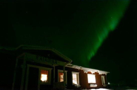 Rajamaa: Norrsken över restaurangen