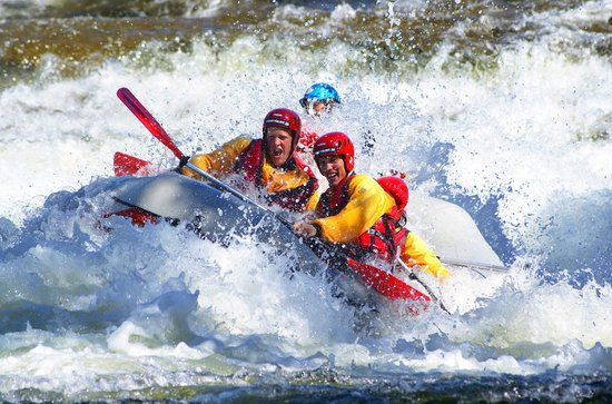 Are, Swedia: Rafting avancerad