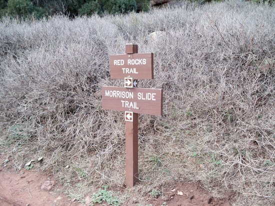Red Rocks Park and Amphitheatre: The trails are well marked