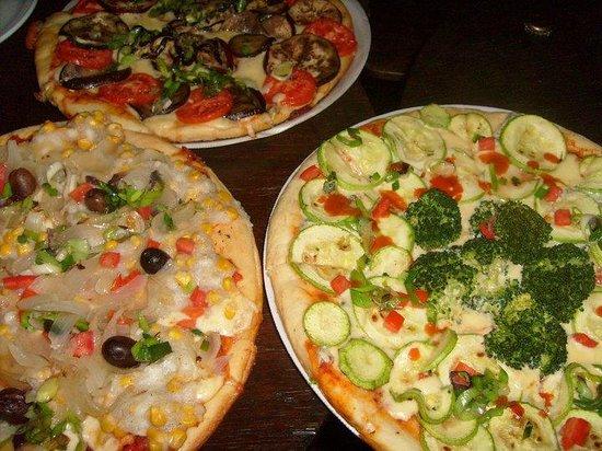 Hostel Joven Casa Reggae: Tartas y pizzas