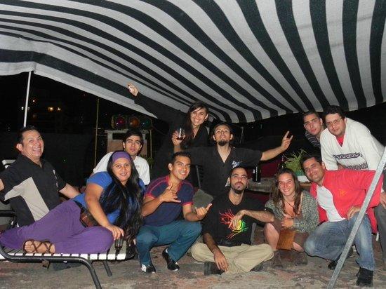 Hostel Joven Casa Reggae: TERRAZA