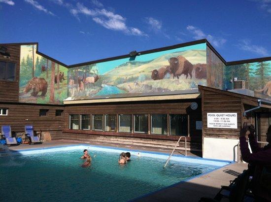 White Sulphur Springs, MT: Pool Area