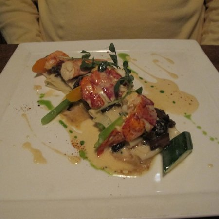 Little Louis' Oyster Bar: Pappardelle with butter poached lobster