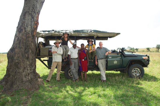 Cottar's 1920's Camp: After picnic in the Mara