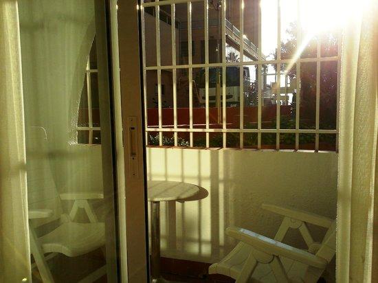 Hotel Felipe II: Vista de la terraza