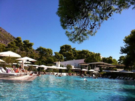 Club Med Gregolimano: La piscine du CM Gregolimano