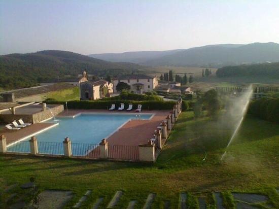 La Bagnaia Golf & Spa Resort Siena, Curio a Collection by Hilton: vista dall alto