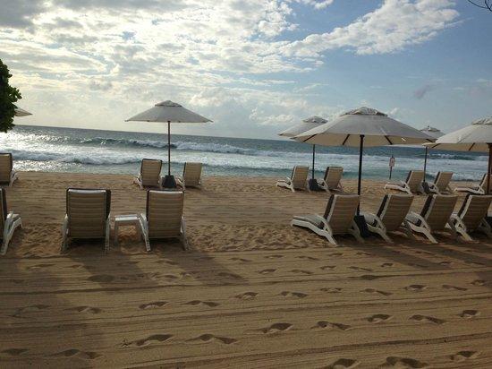 Hilton Bali Resort : Plage le matin