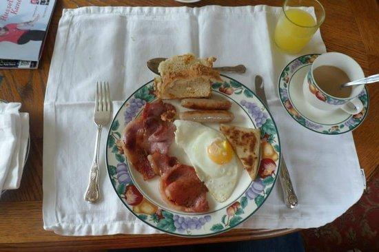 Failte B&B: Le petit déjeuner typique