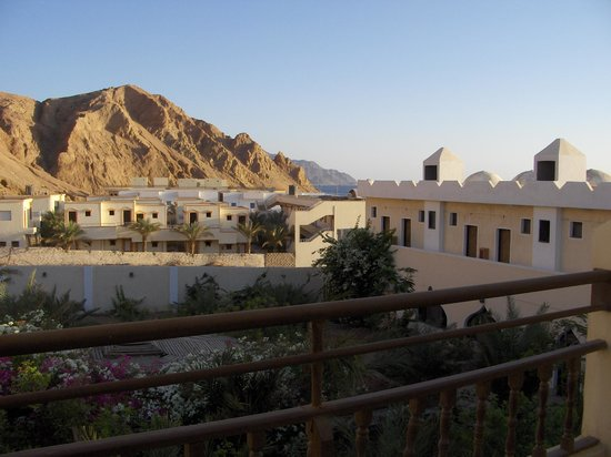 The Bedouin Moon Hotel: From balcony of room 22