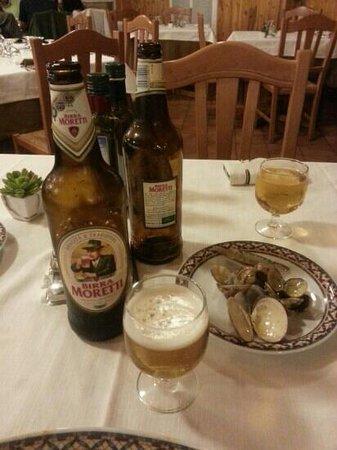Il Capanno: Pratos deliciosos e bebida em conta.
