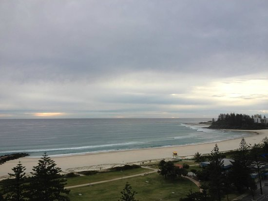 The Sebel Coolangatta: Photo from the balcony of the Sebel