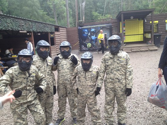 Delta Force Paintball: what great fun!!!!