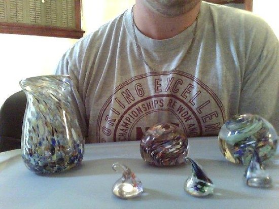 Oglebay Institute Glass Museum: Some of the glass work I MADE at Oglebay Glass Museum. Thanks for your guys time to teach me