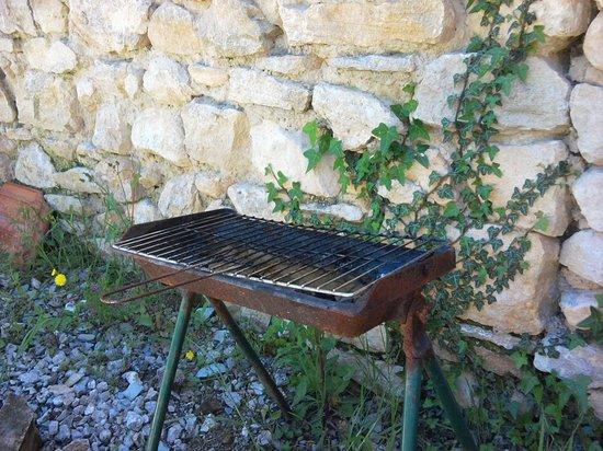 Domaine du Chene Vert : Barbecue d'époque
