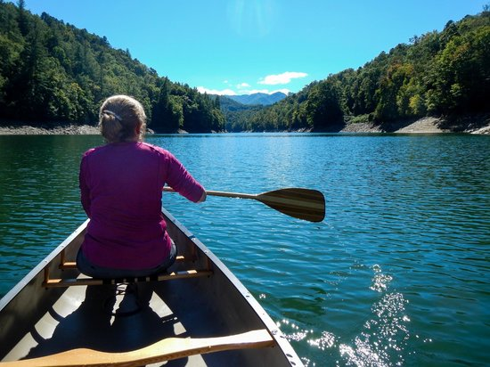 Turkey Creek Campground : Ten Minutes Away on the Nantahala