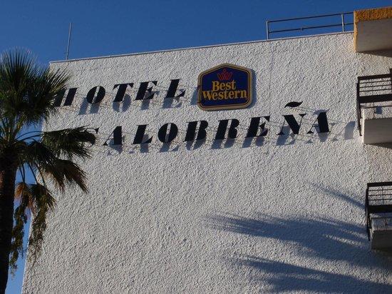 Best Western Hotel Salobreña: indgang til hotelet