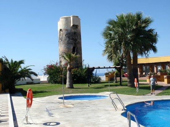 Best Western Hotel Salobreña: gammel ild tårn
