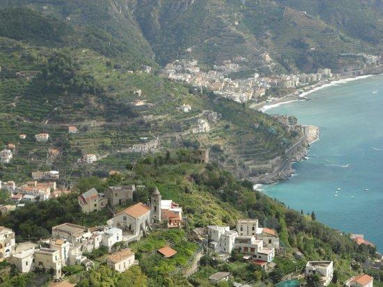 Villa Amore Ristorante : from the terrace of Villa Amore!