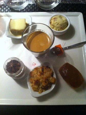 L'Intrigue : Dessert ( café gourmand )