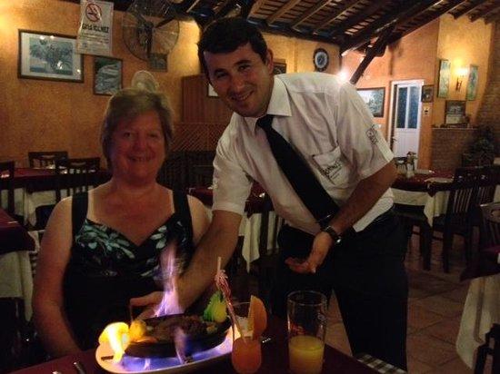 Domino's Restaurant: Flaming Lamb Tandir