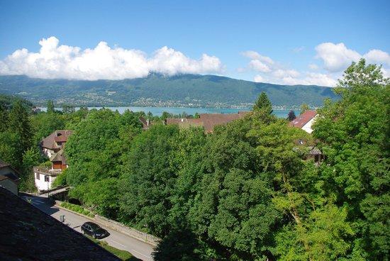 La Vallombreuse: view out window