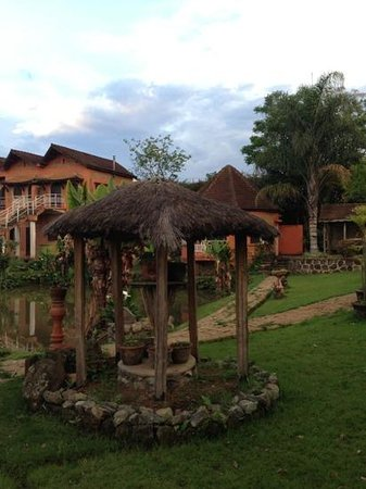Hotel Green Park: garden