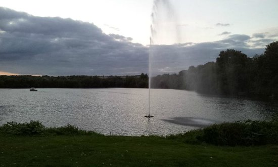 Crowne Plaza Marlow: view from the hot tub