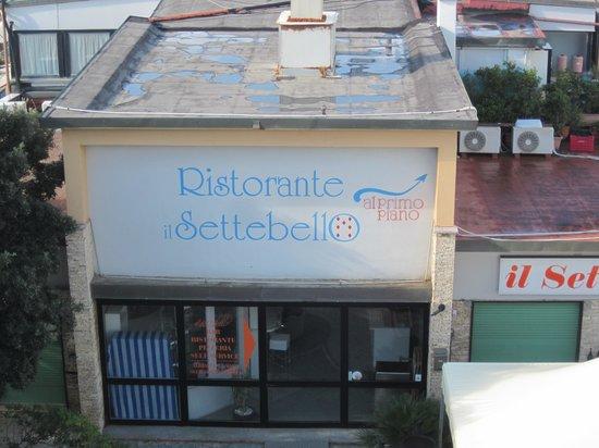 """Hotel - Ristorante """"Il Settebello"""" : Exterior of the restaurant"""