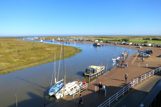 The Blakeney Hotel: View from our balcony