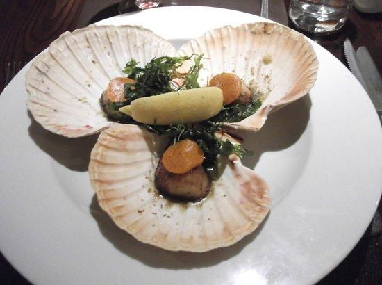 Quayside Hotel: amazing scallops