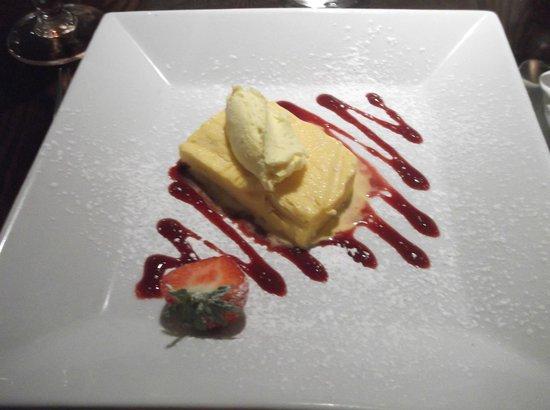 Quayside Hotel: beautiful pudding