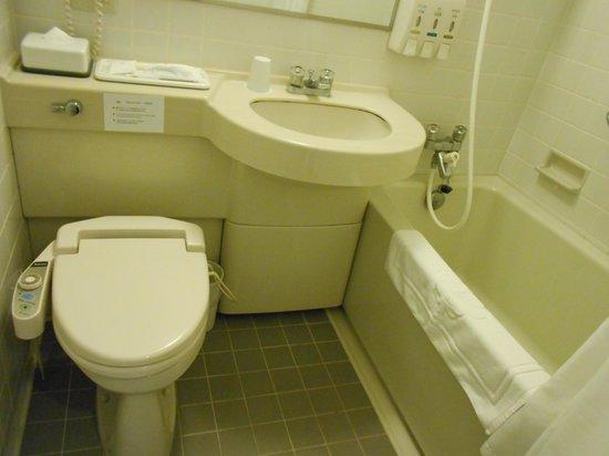 Marroad International Hotel Narita Airport: 今どきめずらしい水とお湯が独立栓