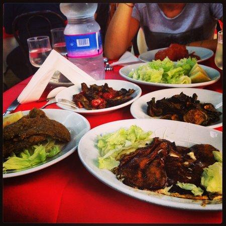 Trattoria del Buongustaio: Pranzo completo per tre!!