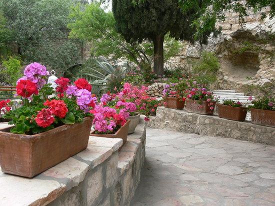 Calvaire de Gordon : The garden at the garden Tomb