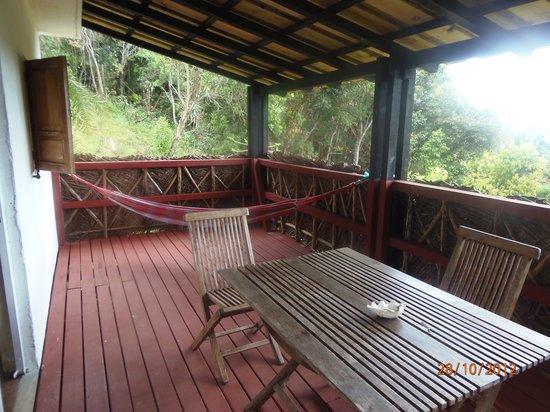 Le Relais Forestier: La terrasse
