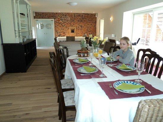 Molen ter Walle Bed & Breakfast: Ruime ontbijt ruimte geschikt voor vergaderingen