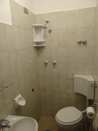 Ungherese: Badkamer éénpersoonskamer