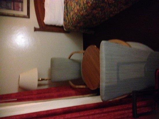 أميريكاز بست فاليو إن كريسينت سيتي: Room #229 bfast nook